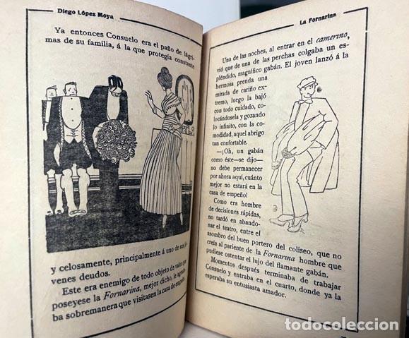 Libros antiguos: La novela de La Fornarina. (Consuelo Bello) (Cubierta e ilustraciones de K-Hito - Foto 2 - 275177993