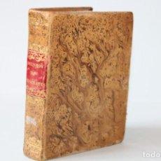 Libros antiguos: 1847 / AFORISMOS Y PRONOSTICOS DE HIPOCRATES POR D.JOSE DE ARCE Y LUQE. Lote 275301053