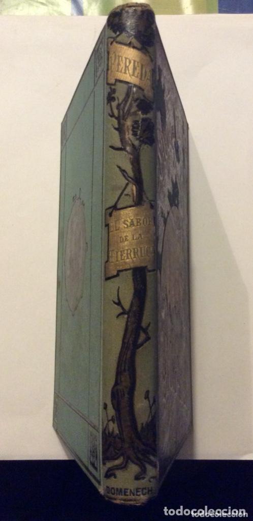Libros antiguos: EL SABOR DE LA TIERRUCA.JOSE MARIA DE PEREDA. 1882 - Foto 2 - 275516018