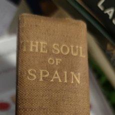 Libros antiguos: THE SOUL OF SPAIN HAVELOCK ELLIS.1913. Lote 275544978