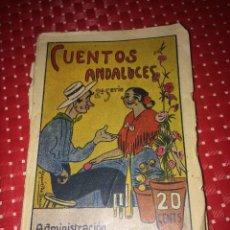 Libros antiguos: CUENTOS ANDALUCES - AÑO 1916 - 20 CENTS. - 64 PÁGINAS. Lote 275607733