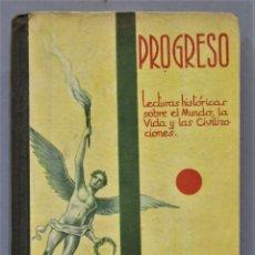 Libros antiguos: PROGRESO. FEDERICO TORRES. Lote 275692113