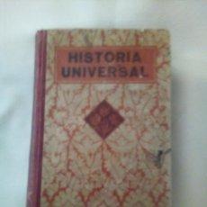 Libros antiguos: HISTORIA UNIVERSAL; AÑO 1936 -EDITORIAL LUIS VIVES. Lote 275749518