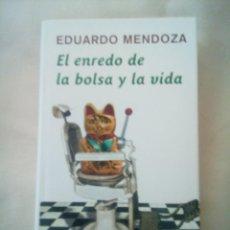 Libros antiguos: ENREDO DE LA BOLSA Y LA VIDA DE EDUARDO MENDOZA. Lote 275750208