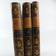 Libros antiguos: TRES TOMOS DE HISTORIA DEL FRAY GERUNDIO DE CAMPAZAS ALIAS ZOTES AÑO 1804. Lote 275923658