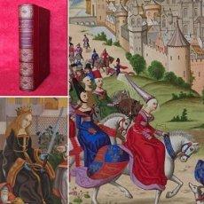 Libros antiguos: AÑO 1880 -29 CM- EL ARTE EN LA EDAD MEDIA Y EL RENACIMIENTO - 20 LITOGRAFIAS EN COLOR - 400 GRABADOS. Lote 275962183