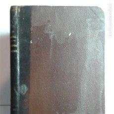 Libros antiguos: TRATADO DE LA CANTIDAD PROSÓDICA Y DE LA FORMACIÓN DE LAS PALABRAS LATINAS 1882 JAIME MONELL. Lote 276002088