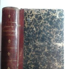 Libros antiguos: COSA CUMPLIDA ... SOLO EN LA OTRA VIDA DIÁLOGOS ENTRE LA UVENTUD Y LA EDAD MADURA 1881 F. CABALLERO. Lote 276016428