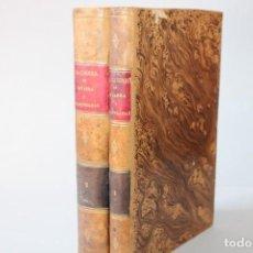Libros antiguos: 1848 / LA GUERRA EN NAVARRA Y PROVINCIAS VASCONGADAS POR M.F.M. DE VARGAS 2 TOMOS / OBRA ORIGINAL. Lote 276120408