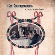 Libros antiguos: JACINTO BENAVENTE : EL NIDO AJENO (LOS CONTEMPORÁNEOS, 1914). Lote 276232943