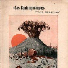 Libros antiguos: JACINTO BENAVENTE : ROSAS DE OTOÑO (LOS CONTEMPORÁNEOS, 1914). Lote 276234118