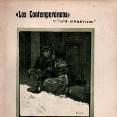 Libros antiguos: JOAQUIN DICENTA : SOBREVIVIRSE (LOS CONTEMPORÁNEOS, 1913) DOS CUADERNOS. Lote 276234198