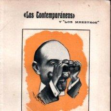 Libros antiguos: JACINTO BENAVENTE : AL NATURAL (LOS CONTEMPORÁNEOS, 1914). Lote 276234643