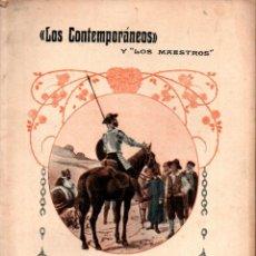 Libros antiguos: HERMANOS ÁLVAREZ QUINTERO : LOS GALEOTES (LOS CONTEMPORÁNEOS, 1914) DOS CUADERNOS. Lote 276234858