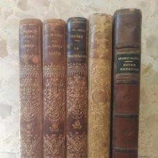 Libros antiguos: VICENTE BLASCO IBÁÑEZ - ARROZ Y TARTANA - 1894 - PRIMERA EDICIÓN - MEDIA PIEL. Lote 276242148