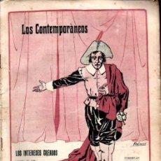 Libros antiguos: JACINTO BENAVENTE : LOS INTERESES CREADOS (LOS CONTEMPORÁNEOS, 1913). Lote 276243863