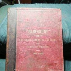 Libros antiguos: REVISTA ENCUADERNADA ALBORADA. ASOCIACIÓN BENÉFICA CULTURAL DEL PARTIDO DE CORCUBIÓN 1925-1927. Lote 276364493
