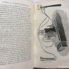 Libros antiguos: TECHNIQUE DE PSYCHOLOGIE EXPÉRIMENTALE DE TOULOUSE... TOMO 2, 1911. EN FRANCÉS. MUY ESCASO.. Lote 276380543