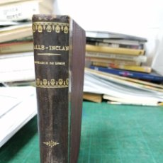 Libros antiguos: VALLE INCLÁN. ROMANCE DE LOBOS. Lote 276460683