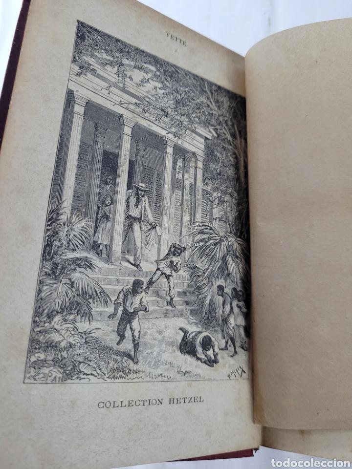Libros antiguos: Yette Historia DUne Jeune Créole par Th. Bentzon - Foto 3 - 276501263