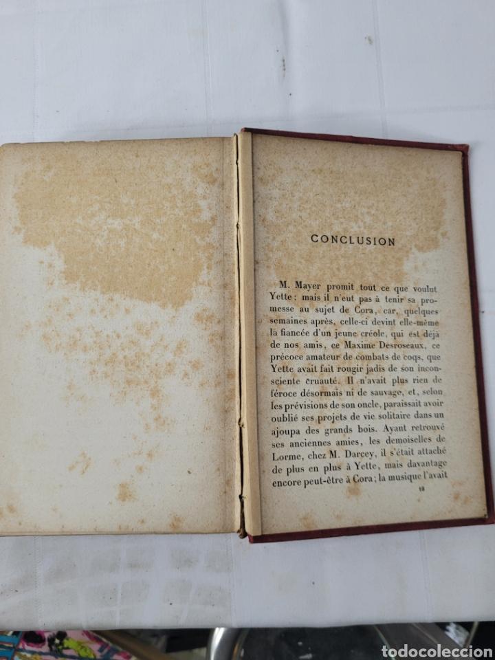 Libros antiguos: Yette Historia DUne Jeune Créole par Th. Bentzon - Foto 5 - 276501263