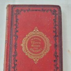Libros antiguos: YETTE HISTORIA D'UNE JEUNE CRÉOLE PAR TH. BENTZON. Lote 276501263