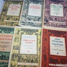Libros antiguos: MONOGRAFÍAS DE BARCELONA 20 VOLUMENES OBRA COMPLETA. Lote 276598443