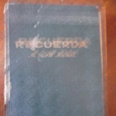 Libros antiguos: RECUERDA . M.SCOTT MICHEL. Lote 276606148