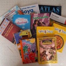 Libros antiguos: LOTE LITERATURA INFANTIL Y JUVENIL - VER FOTOS. Lote 276623068