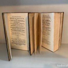 Libros antiguos: PRINCIPIOS SOBRE LA TÁCTICA DE CABALLERÍA / 1791 / CABALLO / HIPICA / ECUESTRE / YEGUA. Lote 276636993