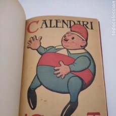 Libros antiguos: REVISTA CU-CUT CALENDARI 1910 Y 1912. Lote 276694398