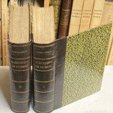 Livros antigos: AÑO 1877-1879 - EL ESCUDERO DE SATANÁS POR ORTEGA Y FRÍAS NOVELA HISTÓRICA 2 TOMOS - FALTAN LÁMINAS. Lote 276721018