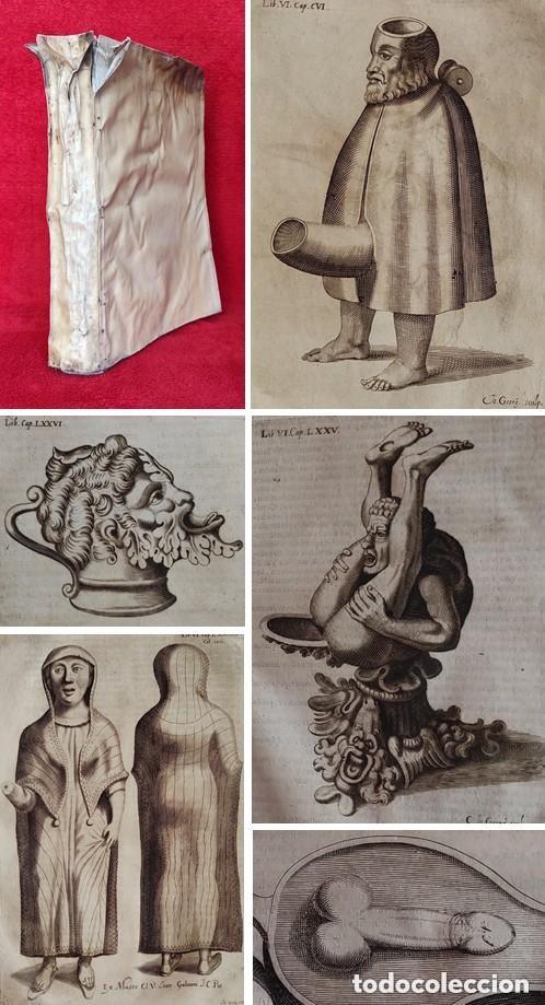 AÑO 1652 - 33 CM - 1,7 KG - SORPRENDENTE LIBRO DE ANTIGÜEDADES - 100 PRECIOSOS GRABADOS (Libros Antiguos, Raros y Curiosos - Bellas artes, ocio y coleccionismo - Otros)