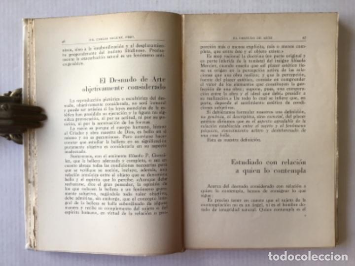 Libros antiguos: EL DESNUDO DE ARTE. Estudio social, moral y estético acerca de su profusión pública. - SALICRÚ PUIGV - Foto 3 - 123243570