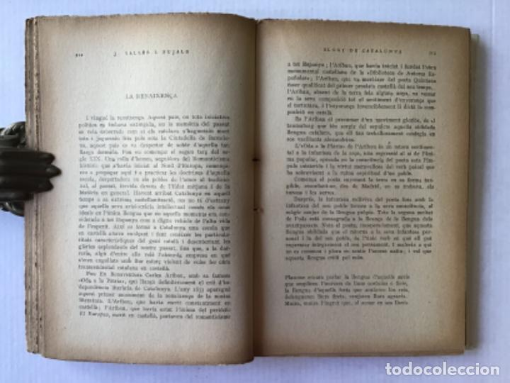 Libros antiguos: ELOGI DE CATALUNYA. La terra, el mar, els homes, la llengua, els monuments, Barcelona, cloenda. - VA - Foto 3 - 123255858