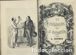 LE CUISINIER ET LE MEDECIN, ET LA MEDECIN ET LE CUISINIER. 2 TOMOS EN 1 - LOMBARD L-M (Libros Antiguos, Raros y Curiosos - Cocina y Gastronomía)