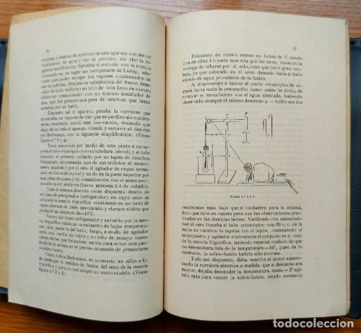 """Libros antiguos: CONTRIBUCIÓN AL ESTUDIO CRIOSCÓPICO DE LA """"LECHE"""" Y EL """"KEFIR"""", 1912 YOGHURT - Foto 3 - 276818588"""