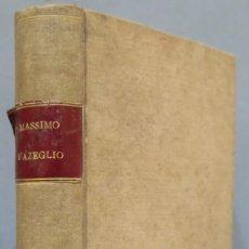 Libros antiguos: 1866.- NICCOLO' DE' LAPI OVVERO I PALLESCHI E I PIAGNONI. D'AZEGLIO MASSIMO. Lote 276821713