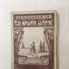 Libros antiguos: ALMANAQUE DE LA NOVELA IDEAL. 1927. TALL. GRÁFICOS COSTA. BARCELONA.. Lote 276921493