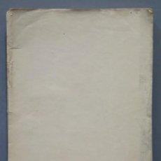 Libros antiguos: 1911.- FERNANDO DE CORDOBA Y LOS ORIGENES DEL RENACIMIENTO FILOSOFICO EN ESPAÑA. Lote 277010963