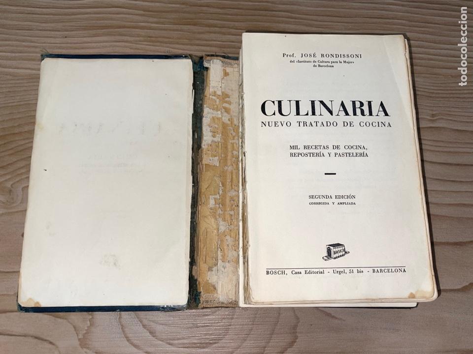 Libros antiguos: L- Culinaria. Nuevo teatado de cocina. Mil recetas de cocina, repostería y pastelería. 2a edición - Foto 5 - 277144643