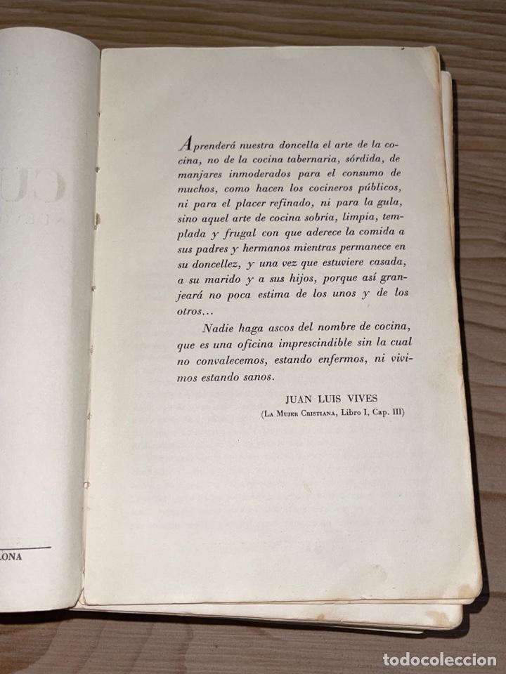 Libros antiguos: L- Culinaria. Nuevo teatado de cocina. Mil recetas de cocina, repostería y pastelería. 2a edición - Foto 6 - 277144643