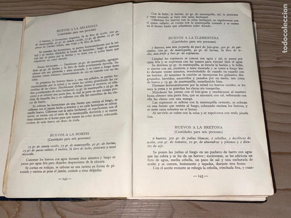 Libros antiguos: L- Culinaria. Nuevo teatado de cocina. Mil recetas de cocina, repostería y pastelería. 2a edición - Foto 7 - 277144643