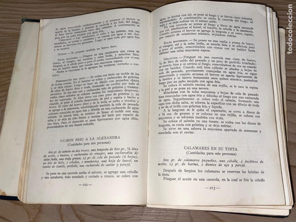 Libros antiguos: L- Culinaria. Nuevo teatado de cocina. Mil recetas de cocina, repostería y pastelería. 2a edición - Foto 9 - 277144643