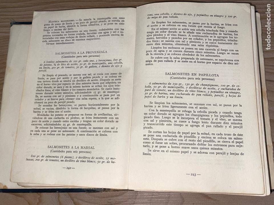 Libros antiguos: L- Culinaria. Nuevo teatado de cocina. Mil recetas de cocina, repostería y pastelería. 2a edición - Foto 10 - 277144643