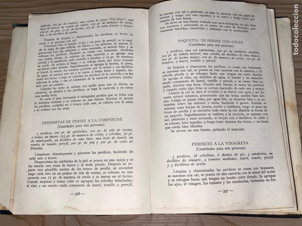 Libros antiguos: L- Culinaria. Nuevo teatado de cocina. Mil recetas de cocina, repostería y pastelería. 2a edición - Foto 12 - 277144643