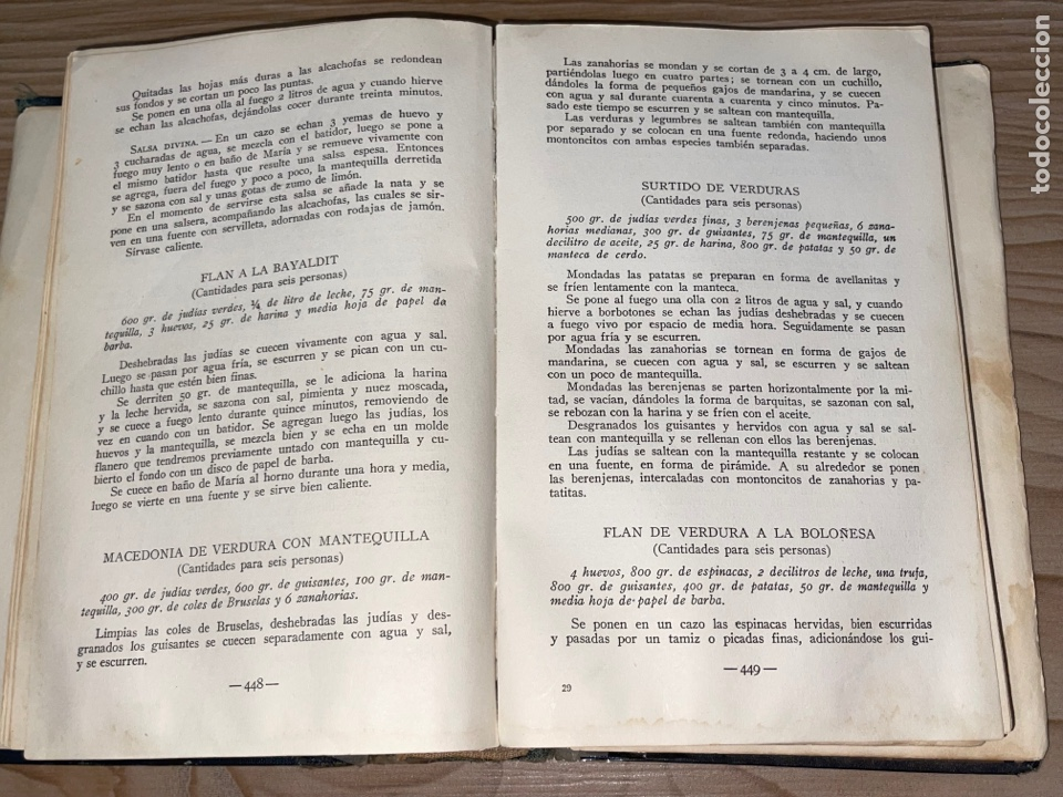 Libros antiguos: L- Culinaria. Nuevo teatado de cocina. Mil recetas de cocina, repostería y pastelería. 2a edición - Foto 13 - 277144643