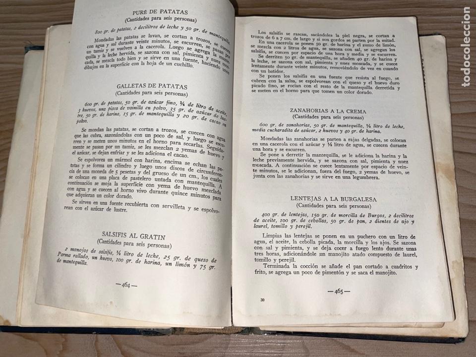 Libros antiguos: L- Culinaria. Nuevo teatado de cocina. Mil recetas de cocina, repostería y pastelería. 2a edición - Foto 14 - 277144643