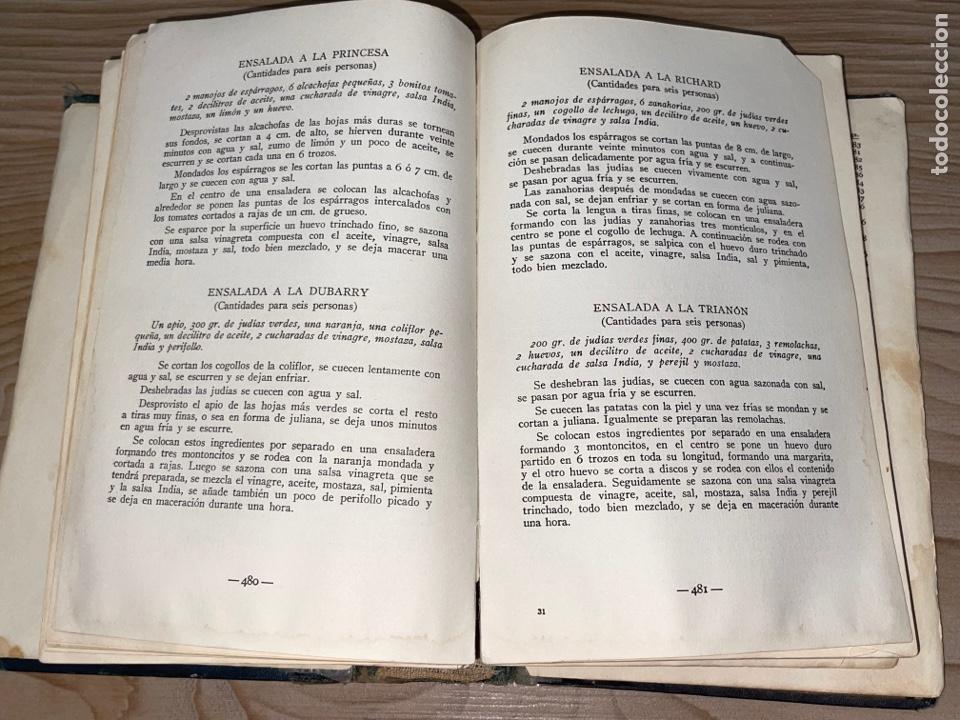Libros antiguos: L- Culinaria. Nuevo teatado de cocina. Mil recetas de cocina, repostería y pastelería. 2a edición - Foto 15 - 277144643