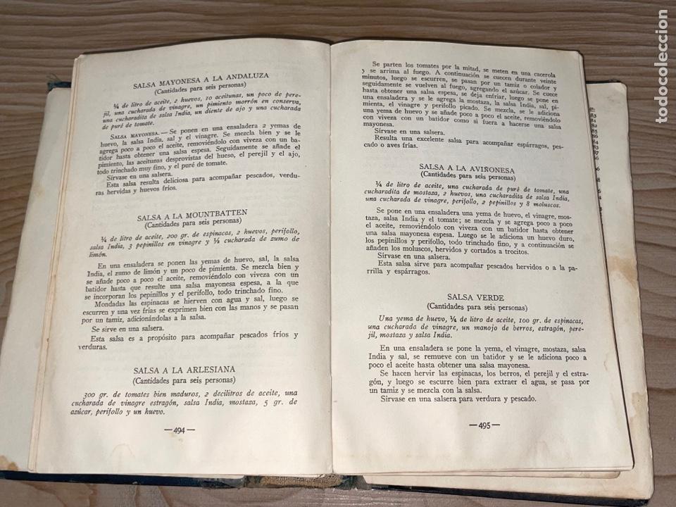 Libros antiguos: L- Culinaria. Nuevo teatado de cocina. Mil recetas de cocina, repostería y pastelería. 2a edición - Foto 16 - 277144643